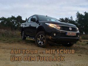Auf Tour... mit Schur & dem Fiat Fullback
